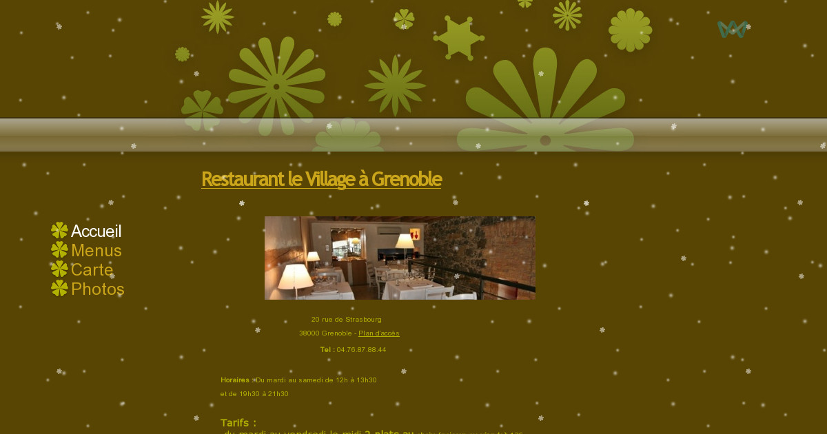 Restaurant le village grenoble menus - Restaurant le garage grenoble ...
